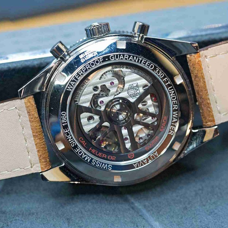 Limited Edition Replica TAG Heuer Autavia UAE Watch Introduce For 2018