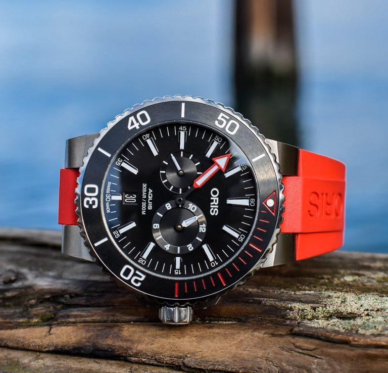 Replica Oris Regulateur Der Meistertaucher Titanium 43.5mm Watch Guide
