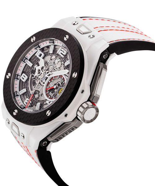 Hublot Big Bang Ferrari White Ceramic Carbon Watch