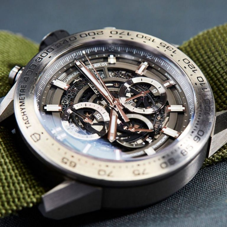 Swiss Replica TAG Heuer Carrera Heuer 01 Grey Phantom Watch Review