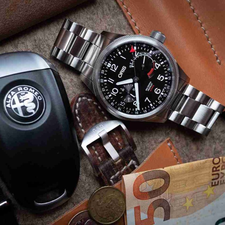 Swiss Oris Big Crown ProPilot Caliber 114 GMT Hand-Wound Replica Watches Introducing For 2019 New Year