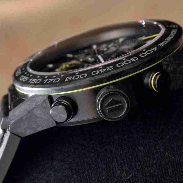 SIHH 2019 Carbon Spirals Swiss Replica TAG Heuer Carrera Calibre Heuer-02T Tourbillon Nanograph Watches Guide