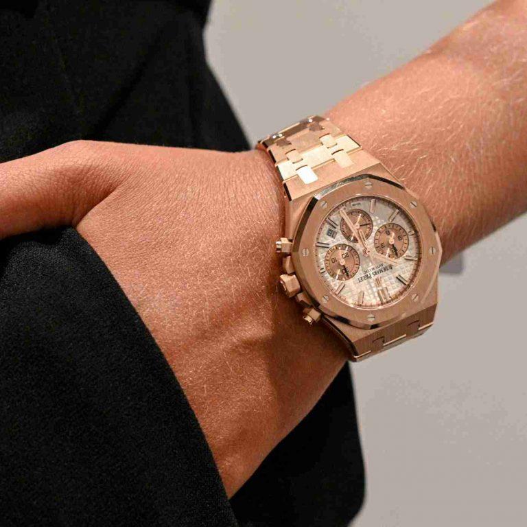 Best Audemars Piguet Royal Oak Automatic Chronograph 38mm Replica Watches For 2019 International Women's Day