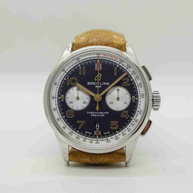 Breitling Premier B01 Chronograph 42 Norton Edition Replica For Father's Day
