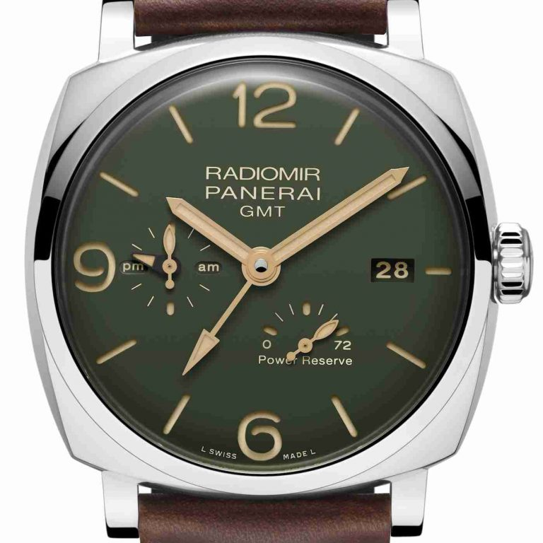 2019 Latest Update Swiss Panerai Radiomir Automatic Green Dial Watches Collection