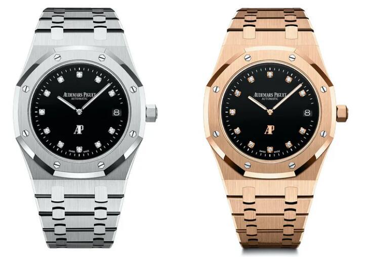 Replica Audemars Piguet Royal Oak Jumbo Extra-Thin Platinum And Rose Gold 39mm Watches Guide