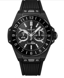 Replica Hublot Big Bang e Qualcomm Snapdragon Titanium Black Ceramic 42mm Watches