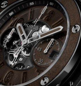 Replica Hublot Big Bang Unico Berluti Cold Brown Ceramic Watch Introducing 3