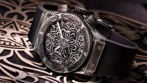 Limited Edition Replica Hublot Classic Fusion Chronograph Shepard Fairey Watch Review 2