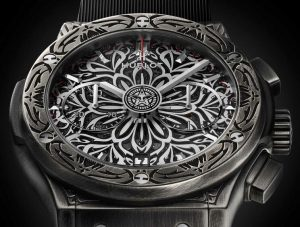 Limited Edition Replica Hublot Classic Fusion Chronograph Shepard Fairey Watch Review 3