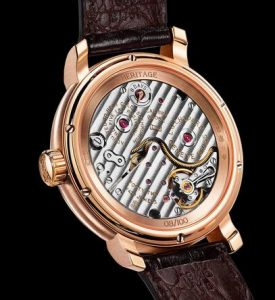 Limited Edition Replica Chopard L.U.C Eight-Day Jump Hour 18k Rose Gold 40mm Watch 2