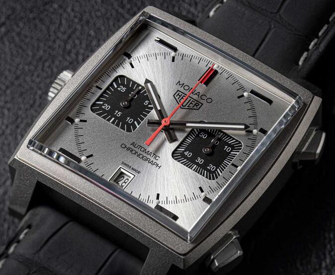 Replica TAG Heuer Monaco Calibre 11 Automatic Chronograph Titan Limited Edition Guide 3